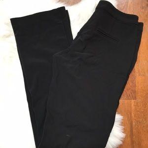 Boston Proper Trouser Pants Silky Material Pockets